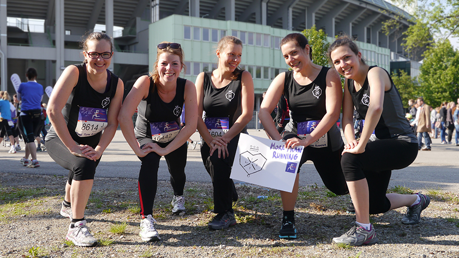 LISI Decathletes partaking in the annual woman's run in Vienna